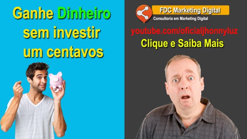 Como GANHAR DINHEIRO sem investir um centavos| Clique e VejaMais!
